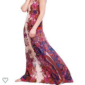 NWT Free People Maxi Slip Dress